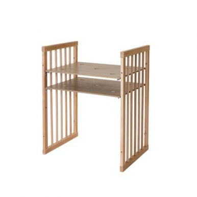 Κούνια μωρού SMART BED 9 in 1 Φυσικο ξυλο