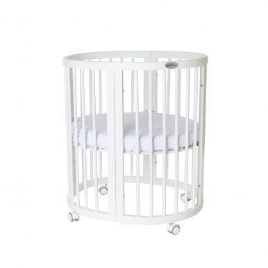 Κούνια μωρού SMART BED 9 in 1 Λευκο