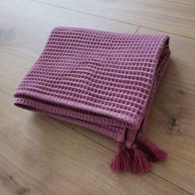 Βρεφική Κουβέρτα με φούντες 90 x 70cm